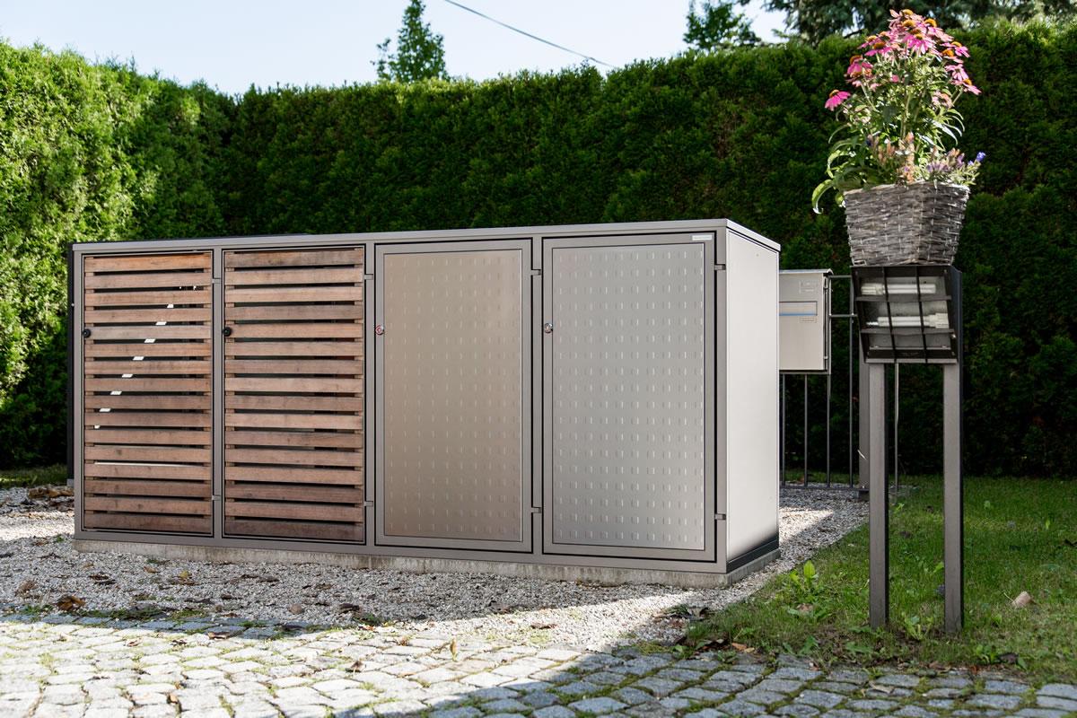 Beliebt Mülltonnenboxen :: M. Fellinger GmbH Metallbau München OS53