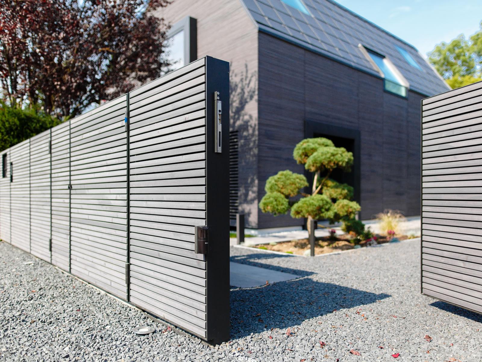 m lltonnenboxen toranlagen z une und eingangsbereich aus metall m fellinger gmbh metallbau. Black Bedroom Furniture Sets. Home Design Ideas